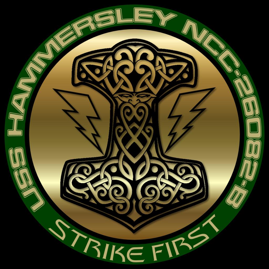 USS Hammersley Seal